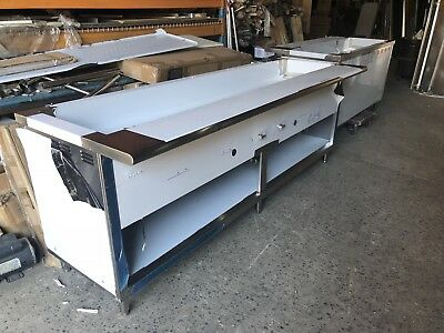 "84"" Stainless Steel Steam Table 6 Pans 2 Burners Nat Gas 40,000 BTU NSF Approved"