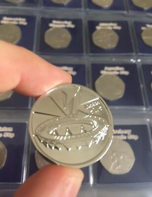 SALE SALE SALE London 2012 Olympic 50p Completer Medallion Coin Hunt