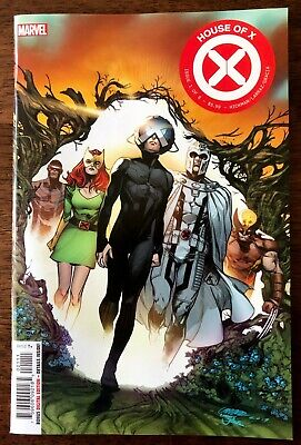 HOUSE OF X #1 First Print Hickman Pepe Larraz Cover A Free Shipping! NM