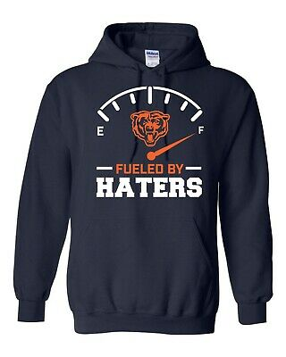 Chicago Bears Fueled By Haters S-5XL Hoodie Trubisky Khalil Mack football