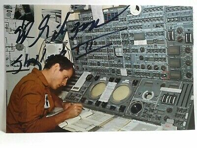 EDWARD GIBSON Hand Signed Autograph 4X6 Photo -NASA ASTRONAUT -SKYLAB III INSCPT
