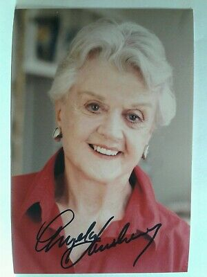 ANGELA LANSBURY Authentic Hand Signed Autograph 4X6  Photo - MURDER SHE WROTE