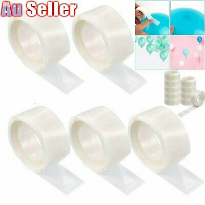 Up 1000x Balloon Glue Dots Double tape Scrapbooking Photo Adhesive Bostik Party