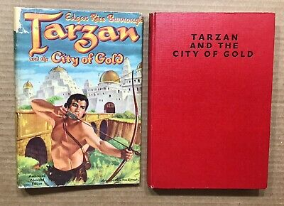 Edgar Rice Burroughs Tarzan &the City Of Gold ~ Publicity Products British HC/DJ