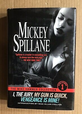 Mickey Spillane The Mike Hammer Collection Vol 1 ~ Signed by Max Allan Collins
