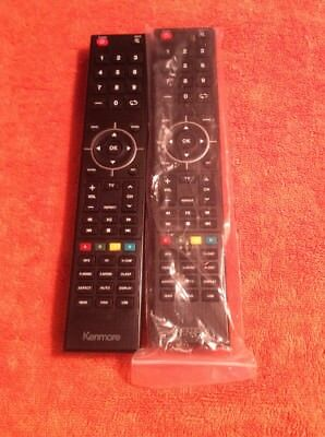 Lot 2 KENMORE TV Remote Control XHY-391-05-/ROH NEW