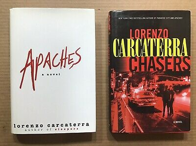 Apaches & Chasers by Lorenzo Carcaterre ~ 1st Editions Ballantine ~ VG
