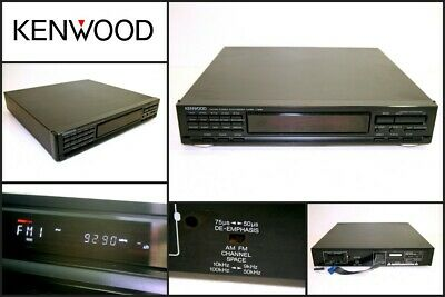 KENWOOD T-848 FM AM Stereo Radio Tuner Made in Japan