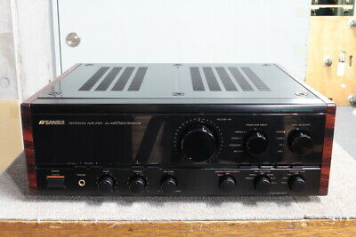 USED SANSUI AU-α607 MOS PREMIUM Integrated amplifier from Japan AC100V