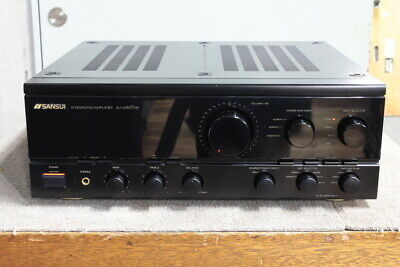 USED SANSUI AU-α607DR Integrated amplifier from Japan AC100V