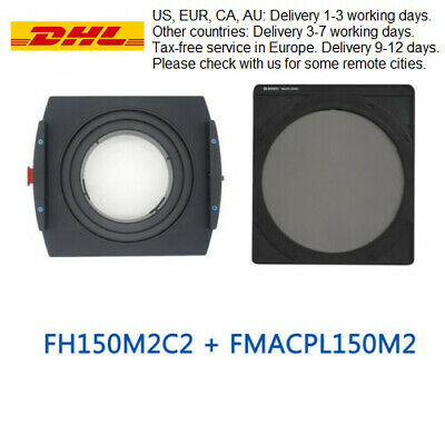 Benro FH150M2C2+FMACPL150M2 Metal Filter Holder Kit for Canon TS-E 17mm f/4L