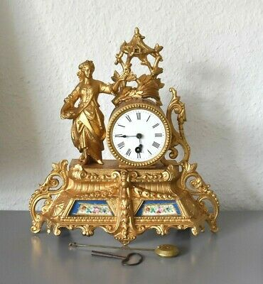 Antique French mantel clock. Working order.