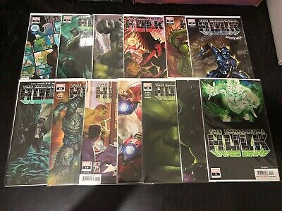 Marvel The Immortal Hulk 2 17 18 19 20 21 22 Reg & Variant Covers Lot Of 13