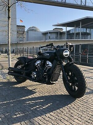Indian Scout Bobber, Bj. 2019, Top-Zustand (inkl. Indian 5 Jahres-Garantie Rest)