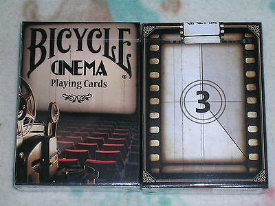 Bicycle Cinema Playing Cards Deck Brand New Sealed