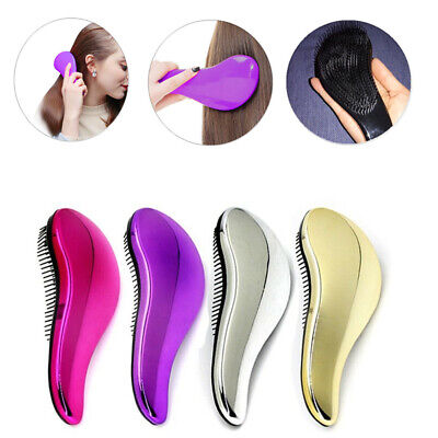 Professional Anti Static Steel Comb pretty Brush For Wig Hair Extension Training
