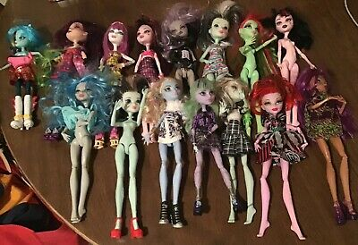Lot Of 15 Monster High & Ever After High Doll Variety