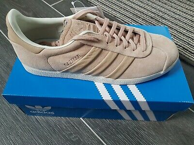 Adidas Gazelle Trainers stitch and turn Size 8