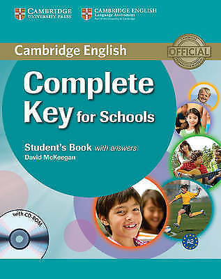 Complete Key for Schools Student's Book with Answers with CD-ROM by David...