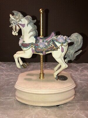 Westland Carousel Horse Collection Limited Edition Music Box The Rose 8062  0818