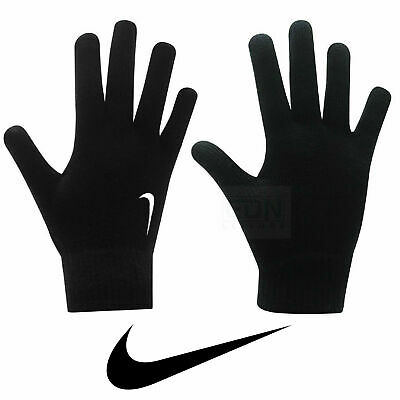 Junior Nike Knitted Gloves Boys Girls Kids Football Training Cold Weather Warm