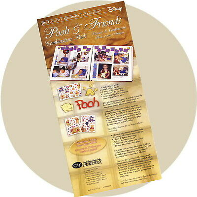 Creative Memories Ideas Booklet Only Pooh and Friends