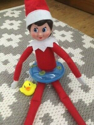 Elf Accessories Props Inflatable Rubber Ring & Duck On The Shelf Ideas Christmas
