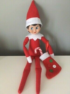 Elf Accessories Props Mini Stocking & Candy Cane On The Shelf Ideas Christmas