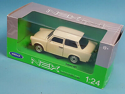 Welly 24037W 1/24 Trabant 601 /TOP+OVP