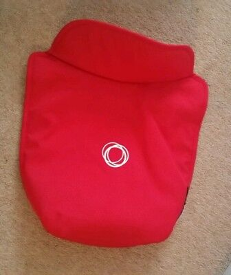 Genuine bugaboo donkey red carrycot apron cover
