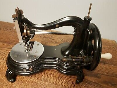 Antique Jones Swan Neck Sewing Machine
