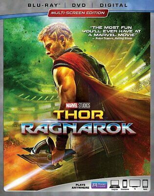 Thor: Ragnarok (Blu-ray/DVD, 2018, 2-Disc Set, No Digital) Free Shipping