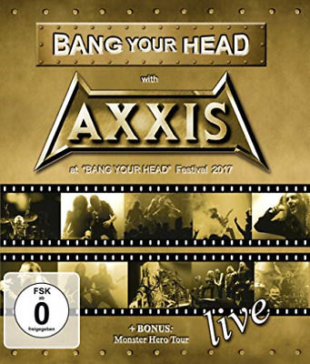 Axxis-Bang Your Head With Axxis (Bluray) DVD NUEVO