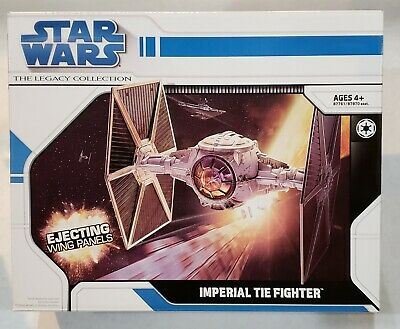 Star Wars The Legacy Collection Imperial Tie Fighter MISB Near Mint Box!