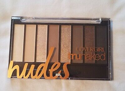 Covergirl TruNaked Nude Eye Shadow Palette #805 Nudes  8 Shades