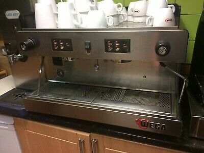 Wega Espresso Coffee Machine Including Cups