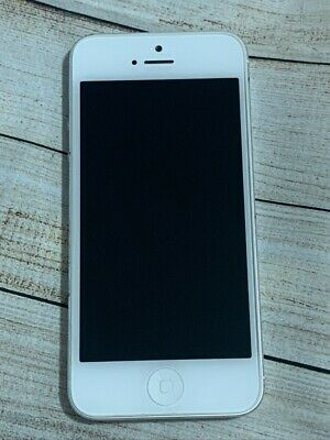 Apple iPhone 5 - 16GB - White & Silver (Unlocked) - Excellent Condition