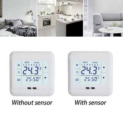 AC 220V Casa LCD Digitale Touch Screen Heating Termostato Temperatura Controller
