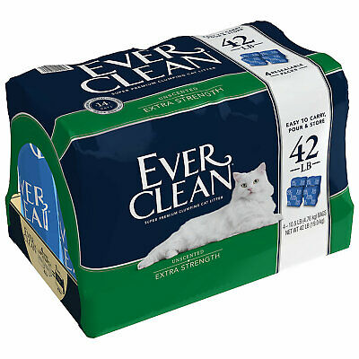 Ever Clean Extra Strength Clumping Unscented Cat Litter