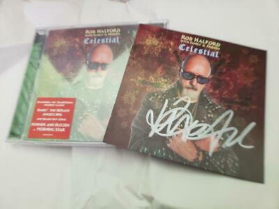 AUTOGRAPHED Rob Halford with Family & Friends Celestial CD LEGACY
