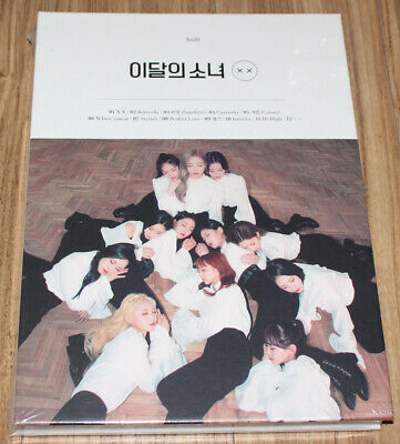LOONA X X MINI ALBUM REPACKAGE LIMITED B Ver. CD + PHOTO CARD + FOLDED POSTER