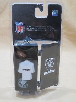 New Oakland Raiders Football NFL Team Locker Room Christmas Ornament