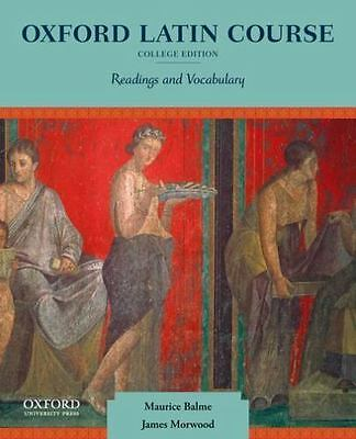Oxford Latin Course, College Edition: Readings and Vocabulary, Morwood, James, B