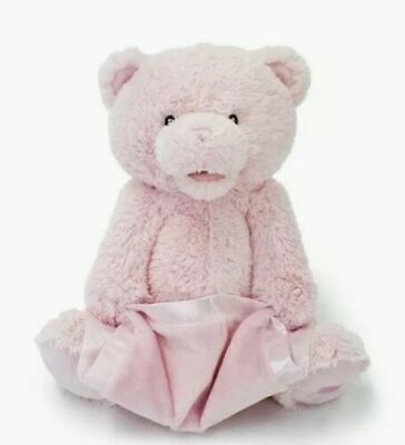 Baby Gund My First Teddy Peek A Boo Bear Pink Interactive 12""