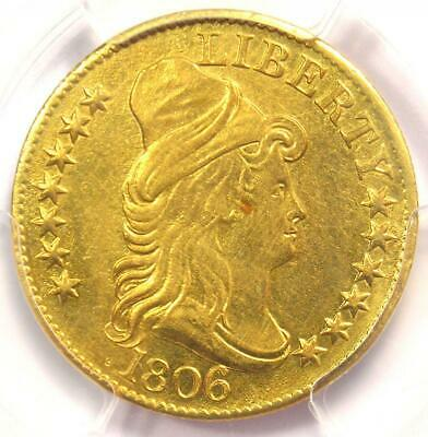 1806 Capped Bust Gold Half Eagle $5 - Certified PCGS XF Details - Rare Gold Coin