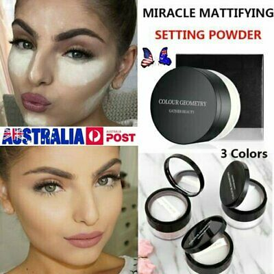 Miracle Mattifying Setting Powder Face Colour Geometry Gather Beauty Best Dm