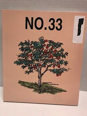 Brother no 33 Embroidery Card Trees & Fruit 36 Designs .pes format