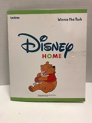Brother Embroidery Card Disney Home Winnie the Pooh SA-305D