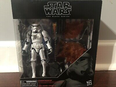 Star Wars Black Series Stormtrooper w/ Blast Accessories Disney Store Exclusive