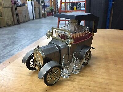 Collectible vintage FORD motor company decanter